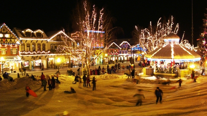 Snow Train to Leavenworth–not the prison « The Yule Log 365