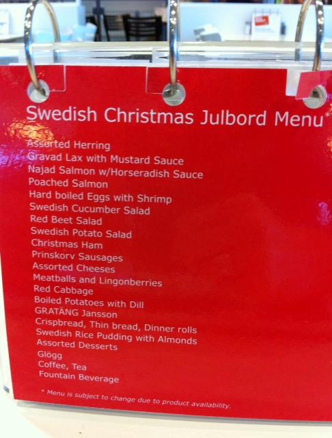 Swedish Julbord At Ikea The Yule Log 365