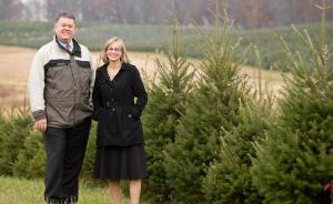 FNP's photo of us taken at Gaver Tree Farm.