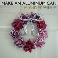 pinterest recycle can wreath