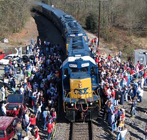 Santa Train 3