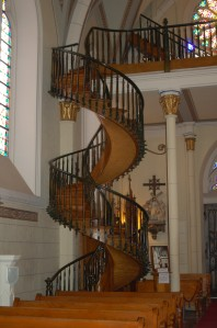 chapel staircase 3