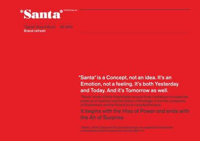Santa Brand book cover