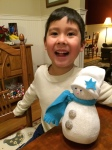 Noah and Snowman
